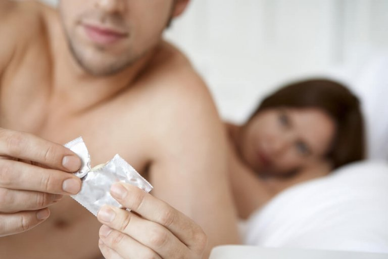 Kondom beim sex